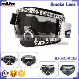 BJ-MG-013B Manufacturer Adult Smoking Letter Frame racing motorcycle custom motocross goggles