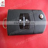 Tongda TD-MAZ 2B, Flip Folding Key Shell for MAZDA 3 5 6 Flip Remote Key Case Replacement 2 Button