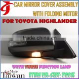Body Kit FOR TOYOTA HIGHLANDER AUTOMATIC View Mirror FOLDING ASSY