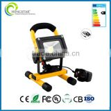2016 hot sale led flood light ip65 outdoor led rechargeable flood light Image