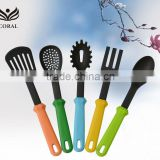 2014 new gadgets set lastest new design Stainless steel plastic nylon kitchen tool                                                                         Quality Choice