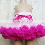 Whole baby prom girls dress super fluffy ruffle tutu pettiskirt in kids