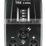 JINBEI TRS 2.4GHz 16-Channel Wireless Flash Remote Controller, Flash Trigger for Photo Studio Flash, Photo Studio Accessory