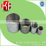 Ul listed galvanized conduit fittings solid socket welding coupling with internal thread