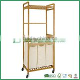Bamboo Laundry Storage Hamper