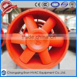 Fireplace gas vaneaxial exhaust ventilation axial blower fan selection