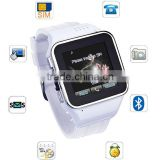 Smart build-in SIM card watch Mobile phone with dual bluetooth                                                                         Quality Choice