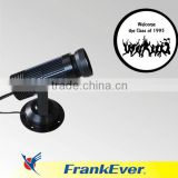 FRANKEVER logo image-forming lamp 10w projection lamp gobo projector outdoor