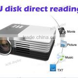 Home Theater Cinema Multimedia Player LED Video TV Beamer Projector with HDMI /AV/VGA/SD/USB Portable Led TV Projectors