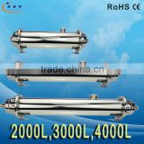 4000L/H UF Membrane Whole House Water Pre-filtration System Pipeline Drinking Water Purifier