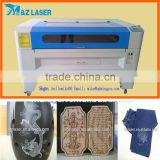 Hot Sale leather label acrylic wood MDF Foam CO2 Cheap laser engraving cutting machine