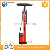 High pressure top quality Iron bicycle floor pump, foot pedal air pump