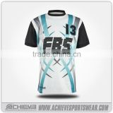 custom china football shirt/ kids soccer jersey manufacturer