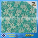 2013 hot sell spandex lace fabric for dress/B004