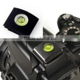 Flash Hot Shoe Cover Cap Bubble Spirit Level For Canon Nikon Olympus Camera Use