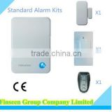 Best Burglar Alarm Wireless Home Security System Based On IP Cloud FSK 868mhz Technology