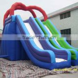 Popular amusing inflatable water slide,inflatable castle,bounce castle,water slide of pengfei