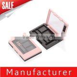 Wholesale 3 color Private Label Eyeshadow Palette Case With Window