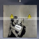 POP81 bedroom banksy print art