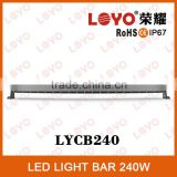 Popular style led light bar, 20''/30''/40''/50'' double row led light bar ,off road led light bar cover
