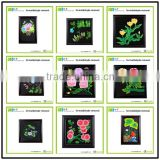 Most Popular hand carved wood handmade Wholesale elegant flower picture frames wall Art Decor hanging