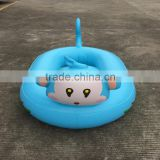 inflatable monkey head swimming ring promotional custom made inflatable monkey