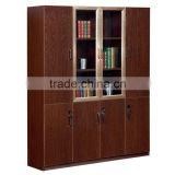 Foshan office furniture best selling antique style wooden office file cabinet,elegant design bookcase