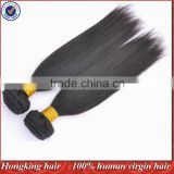 100% virgin real malaysian hair weft factory wholesale
