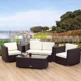Pool furniture rattan sofa garden sets wholesales direct factory