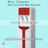 hot&cold bottled water filter cooler/stainless steel tank dispenser tap/point of use water generator compressor/electric cooling