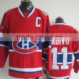 Montreal Canadiens goalie cut hockey jerseys Team Ice Hockey Shirts team hockey uniforms