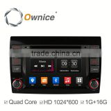 Ownice C300 Android system Car DVD Radio for Fiat Bravo 2007-2014 with GPS Ipod DVR digital TV 3G Wifi tmps