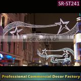 INQUIRY ABOUT Customize commercial Diwali Main street giant led shooting star decoration