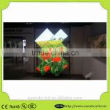 Aluminum frame profile P4 SMD RGB LED video wall screen