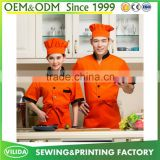 Chinese Factory Provide Chef Coat Western Modern Restaurant Waiter Uniform