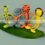 Bendable Animal Toy,Wire Animal Toy,PVC Toy,Transform Toy,Plastic Animal Toy