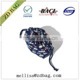 wholesale custom cheap cotton fabric drawstring bag,basketball rope bag,drawstring backpack