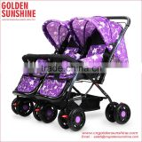 2015 European New Product High Quality Double seat/Twins Baby Pushchair/ Stroller