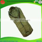 ISO certificated rip-stop out shell goose feather sleeping bag duck feather body sleeping bag