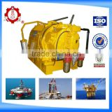 10 tons Pneumatic Air Driven Winch for Pulling Pipes in Drilling Platform