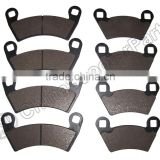 Front & Rear Brake Pads Polaris Ranger 500 2x4 Carb, XP 700 & 800 4x4, RZR-4 900