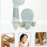 Skin Cleansing Face and Body Brush Microdermabrasion Exfoliator System Multi-functional 4 in 1 Face and Body Brush