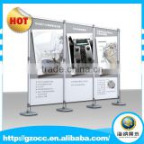 custom factory supplies Cheap wholesale advertising display equipment trade show exhibition booth design for exhibition