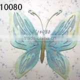 XY10080 metal butterfly wrought Iron wall art crafts for garden patio decorations Size 22x17x2.75""