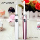 Private label sonic mini teeth whitening electric toothbrush