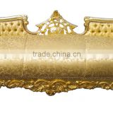 Gold baroque antique sofa