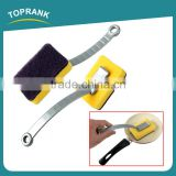 Toprank Wholesale Rectangle Shape Foam Cleaning Sponge Scouring Pad Kitchen Dish Sponge Brush Non-abrasive Cleaning Scouring Pad