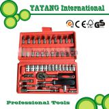 42PCS High quality combination tools Ratchet Wrench and socket set