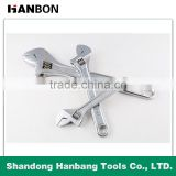 Chrome Plated Adjustable Wrench/Spanner