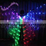 Colorful LED belly dance isis wings for sale M0029-L6